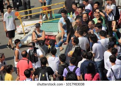 2014 Hong Kong protests Admiralty, Hong Kong / October 12, 2014