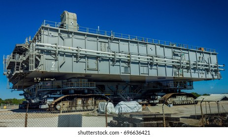 [2014-12-14] The crawler-transporter that carried space shuttle at NASA's Kennedy Space Center, Merritt Island, Florida, United States