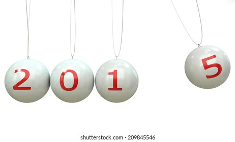 2014-2015 change represents the new year 2014