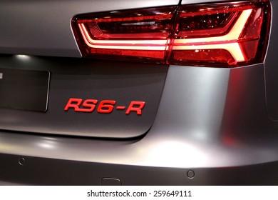 2015 ABT Sportsline Audi RS6-R presented the 85th International Geneva Motor Show on March 3, 2015 in Palexpo, Geneva, Switzerland
