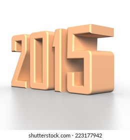 2015 New Year in 3D
