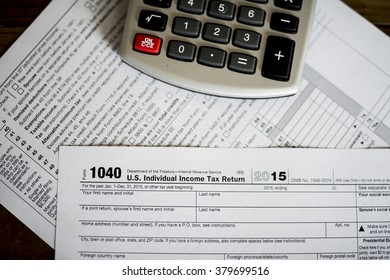 2015 US Income Taxes Filing, Return