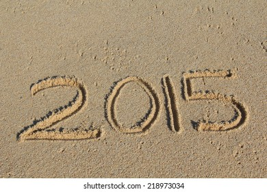 2015 Written in the sand