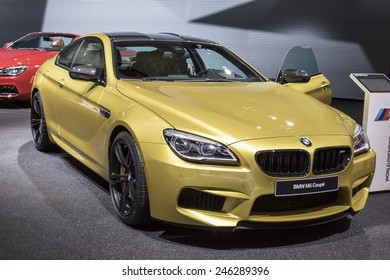 The 2016 BMW M6 coupe at The North American International Auto Show January 13, 2015 in Detroit, Michigan.