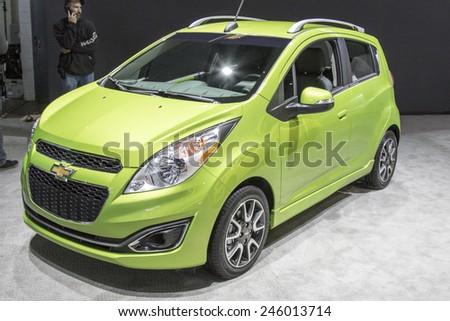 2016 Chevrolet Spark North American International Stock Photo Edit