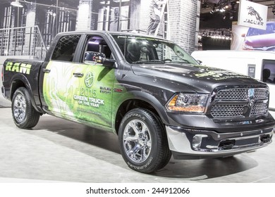 The 2016 Dodge Ram Pickup 1500 at The North American International Auto Show January 13, 2015 in Detroit, Michigan.