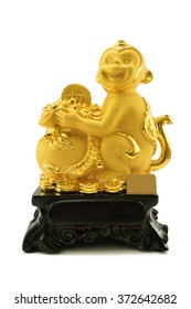 2016 is year of the monkey,Gold monkey