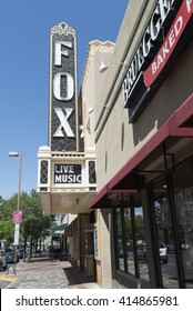 2016.04.25 - Tucson, Arizona, USA - The Fox Tucson Theatr is located in downtown Tucson, Arizona, United States. The theater opened on April 11, 1930 as a performance space in downtown Tucson.