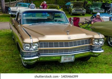 2017 Atlantic Nationals, Moncton, New Brunswick, Canada - 1964 Cadillac Eldorado convertible at Saturday July 8th Centennial Park Moncton.