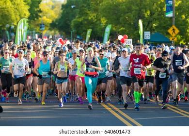 2017 Eugene Marathon Race