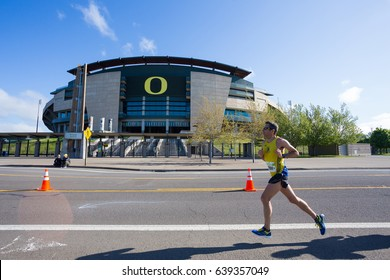2017 Eugene, Oregon Marathon Race