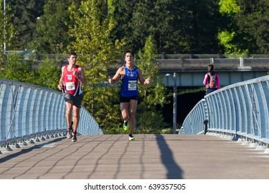 2017 Eugene, Oregon Marathon Race
