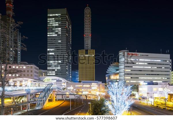 20170203 Saitama Japan Saitama New Urban Buildings