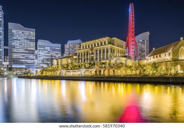 2017.02.17 Yokohama Japan Yokohama Waterfront Nightview