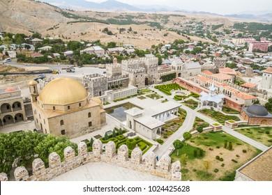 2017/09/22, Rabath Castle, Akhaltsikhe, Georgia. Travel through the beautiful fortress. Ahmediyye Mosque
