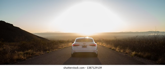 2018 Audi S5 Sportback in Las Cruces, NM on 20 March 2019 enjoying the New Mexico Sunsets.