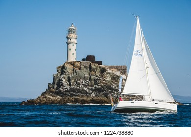 2018 Ireland: Fastnet lighthouse. A view from the boat