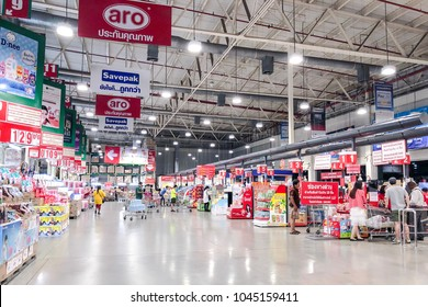 2018 March 12 : Bangkok Thailand : At customer service department inside makro superstore. You can buy the products you want from here.