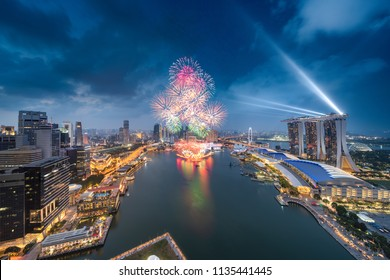 2018 Singapore National Day fireworks