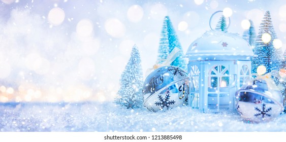 2019. Christmas and New Years holiday background