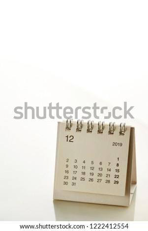 2019 December Calendar Background 2019 December Calendar Background Stock Photo (Edit Now