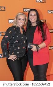 2019, Februari 07. The Box, Amsterdam. 100%NL Awards 2019. Op de foto: Samantha Steenwijk