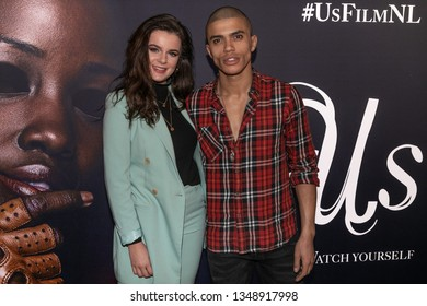 2019, March 13. Pathe ArenA, Amsterdam. Dianne van den Eng and Jojo Pors at the Dutch premiere of Us.