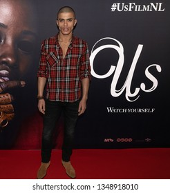 2019, March 13. Pathe ArenA, Amsterdam. Jojo Pors at the Dutch premiere of Us.