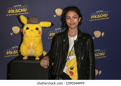 2019, May 06. Pathe ArenA, Amsterdam, the Netherlands. Julia Tan at the dutch premiere of Pokemon Detective Pikachu