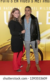 2019, May 09. Pathe ArenA, Amsterdam, the Netherlands. Jojo Pors and Willemijn Beekman at the dutch premiere of The Hustle.
