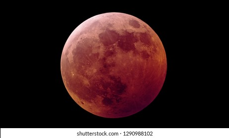 2019 Super Wolf Blood Moon
