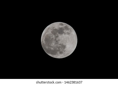 2019 Supermoon photographed from St Paul MN