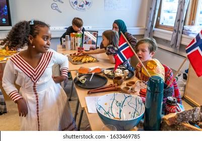 2019.10.12. Norway. Tromso . International Day at Tromsø International school