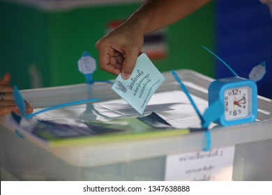 2019,March,24,Bangkok,Thailand, Thailand's first election since a military coup in 2014 voters head to the polls to elect members of the lower house and Prime Minister