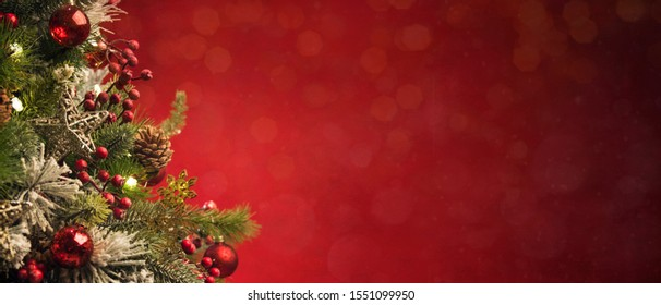 2020 Merry Christmas and New Year holidays background.