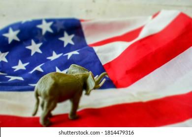 2020 US Presidential Election - Republican Elephant