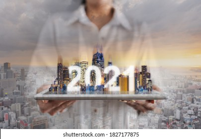 2021 augmented reality technology, new technology and new trend business investment