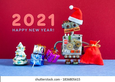 2021 Christmas Robot Robot Festival Images Stock Photos Vectors Shutterstock