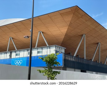 2021 July 10th. Tokyo, Japan. Venue of Tokyo Olympic 2020 Under State of Emergency.