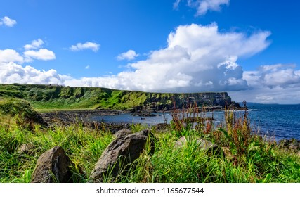 The 20-mile stretch of the Antrim Coastline extending eastward from Portrush to Ballycastle, and includes Giant's Causeway.