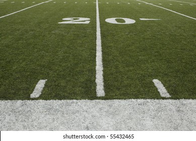 20-yard-line of a football field