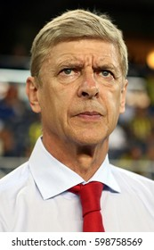 21 August 2013. Istanbul, Turkey. Arsène Wenger is a French football manager and former player. He has been the manager of Arsenal since October 1996.