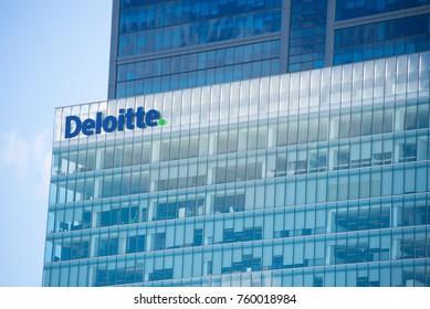 21 November 2017, Perth, Western Australia: Regional headquarter of global accounting firm and financial advisor Deloitte in Perth, Western Australia.