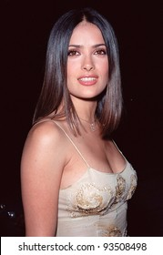 """21SEP99: Actress SALMA HAYEK at Los Angeles premiere of """"Double Jeopardy"""" which stars Tommy Lee Jones & Ashley Judd.  Paul Smith / Featureflash"""