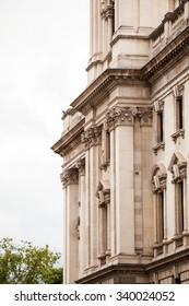 22. 07. 2015. LONDON, UK - Urban landscape and street scenes