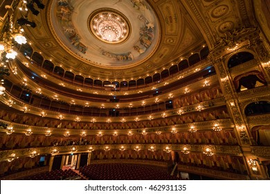 22 APR 2016 : Teatro Colon or Columbus Theatre, main Theatre and main travel attraction in Buenos Aries - Argentina