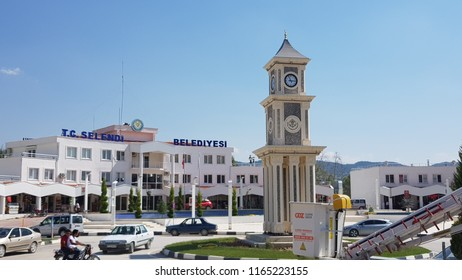 22 August 2018 Manisa,Turkey. Selendi is a town and district of Manisa province in the Aegean region of Turkey.