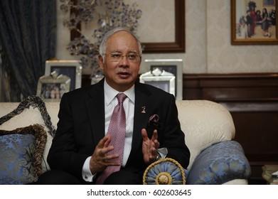 22 February 2011. Kuala Lumpur, Malaysia. Najib Razak, 6th Prime Minister of Malaysia.