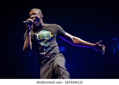 22 February 2020. AFAS Live Amsterdam. Concert of Stormzy