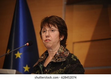 22 January 2011. Istanbul, Turkey. Catherine Ashton is a British Labour politician.